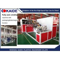 Fully Automatic Pipe Coiler Machine With Auto Packaging / Discharging Function Manufactures