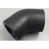 Aging Resistant ANSI Chemical Pipeline HDPE Pipe Tee Manufactures