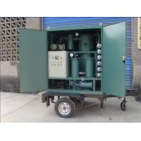 Mobile Transformer Oil Purification and Filtration Equipment with Trailer and Canopy Manufactures