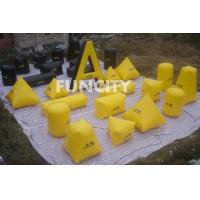 26PC Paintball Bunker Inflatable Sport Games Yellow and Black Manufactures