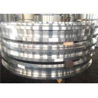 Hot Rolled ASTM JIS BS EN DIN Steel Forging Rings  Heat Treatment And Machined Manufactures