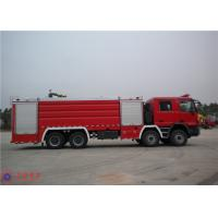 Huge Capacity Fire Fighting Truck Mercedes Chassis With Pressure Combustion Engine Manufactures