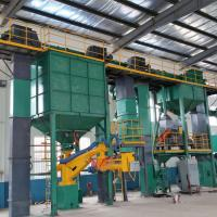 Large Green Sand Moulding Machine  / Green Sand Molding Machine Reclamation Production Line Manufactures