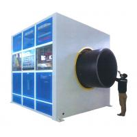 China Haul Off Plastic Pipe Production Line 2-16 Caterpillars ⌀16-⌀3000 Mm Pipe Dia on sale