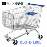 Small 80L UK Supermarket Shopping Cart / Ladies Shopping Trolleys Manufactures
