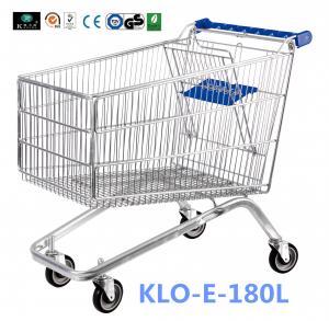 Small 80L UK Supermarket Shopping Cart / Ladies Shopping Trolleys Manufactures
