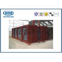 Coal Fired CFB Boiler Economizer Water Heat H Finned Tube / Spiral Finned Tube Manufactures