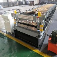 Quality 27-1000 / 25-995 Double Layer Roll Forming Machine , Roof / Wall Double Deck for sale