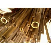 China C44300 / CuZn28Sn1As / CZ111 Yellow Copper Pipes , Seamless Brass Tube on sale