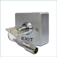 Single Pole Double Throw Keyed Momentary Switch,53 * 53mm Key switch Zinc Alloy Panel Manufactures
