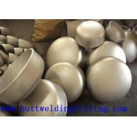 1 3/4'' ANSI B16.9 BW Stainless Steel Pipe Cap , Wall Thickness 2mm - 300mm Manufactures