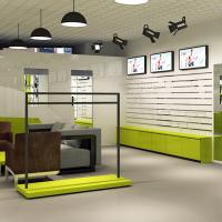 lady retail clothing store furniture designed for clothing store Manufactures