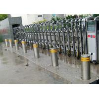 Quality Hydraulic Driven Rise Retractable Bollard Solutions For Car Entry Control for sale