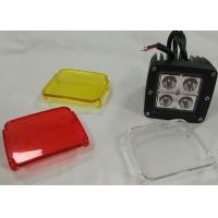 Quality Cube Clear Cover LED Lights Vehicle Accessories 2 X 2 12V Jeep Truck Lighting for sale
