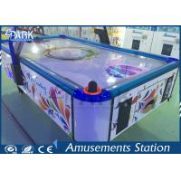Acrylic Table BOBI Commercial Air Hockey Table For Kids CE Certificated Manufactures