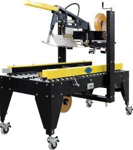 Quality Electric Carton Sealing Machine Auto Flaps Folding Side Belts Driven Sealer for sale