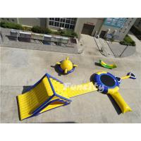 Seashore Funny Inflatable Water Park Games For Aquatic Parks Custom Design Manufactures