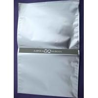 Silver Aluminium Foil Bag Self Adhesive Plastic Bag With Adhesive Seal Manufactures