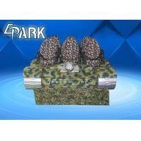 6 Player Virtual Reality Machine , 9d Vr Simulator With Attractive Tank Appearance Manufactures