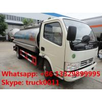 dongfeng 5,000L Euro 4 milk tank truck, liquid food tank truck for sale, Manufactures