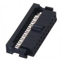 F TYPE WCON Female Idc  Connector Socket PBT black Cable Connector Manufactures