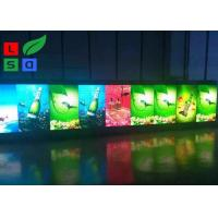 Quality P6 Pixels LED Poster Display 1728x768mm Size Graphic Screen Display For Street Poles for sale