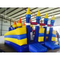 Funny Inflatable Sports Games , Huge Outdoor Kids Inflatable Castle Manufactures