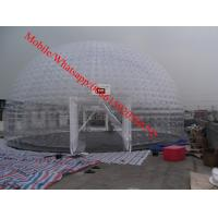 inflatable clear dome tent inflatable clear trade show tent for event clear event tent Manufactures