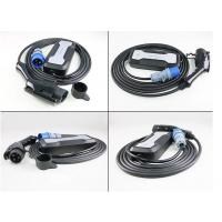 Mode 2 EV Charger Type 1 to CEE with 5m Black Cord Manufactures