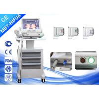 Vertical 8mm 13mm Smas Ultrasound HIFU Machine , Face Lift High Intensity Beauty Clinic Machine Manufactures