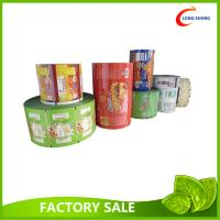 China PET Laminated Printed Plastic Packaging Film For Snack Packaging 20cm X 1000m on sale