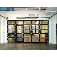 Motorized Aluminum Sectional Garage Door For House Manufactures