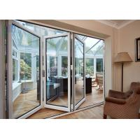 Quality Heat Insulation Aluminium Folding Doors Corrosion Resistance With Insect Screen for sale