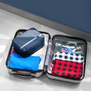 Zipper Closure Unisex Nylon Hanging Cosmetic Travel Bag Manufactures