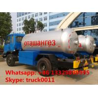 factory supply 3metric tons lpg cooking gas delivery truck, hot sale 7 cubic meters propane gas tank truck Manufactures