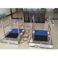 AC220 Kitchen Shoe Sole Cleaning Machine With Handrail , Cleaning By Water To Australia Manufactures