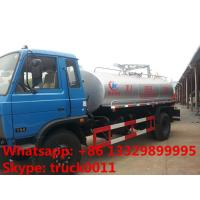 Quality hot sale best price dongfeng 153 10 cubic meters fecal suction truck, dongfeng 4*2 190hp diesel vacuum truck for sale for sale