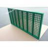 Steel Frame Mongoose Shaker Screens API 20-325 Mesh Count For Mud Filtration Manufactures