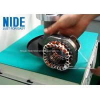 Buy cheap Economical AC induction motor stator coil lacing machine, washing machine coil from wholesalers