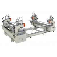Stable operation UPVC Window Machine , CNC Horizontal Four Point Welding Machine Manufactures