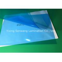 Quality Office Clear Blue Customized Binder Covers 200 Mic Less Fish Eye for sale