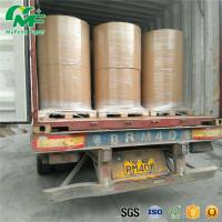 Nontoxic 55gsm Thermal Paper Jumbo Rolls , Jumbo Paper Roll High Rubbing Resistance Manufactures