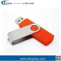 Rotate 2 in 1 32GB Metal OTG USB Flash Drive High quality Metal Memory Manufactures