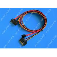 Female 22-pin to Male 22-pin SATA Data & Power Combo Data Extension Cable Manufactures