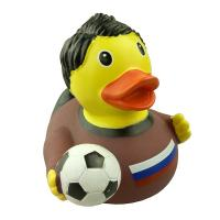 OEM Floating Football Custom Rubber Ducks 9P Free For Super Market / Toys Retail Manufactures