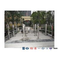 Pedestrian Entrance Automatic Swing Barrier Gate Access Control System With 304 stainless steel Manufactures