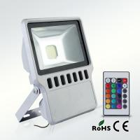 led flood light 100W RGB color with remote controller IP65 Manufactures