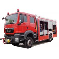 Quality 2 Seats Fire Fighting Truck Elkhart Monitor Road - Rail Convertible Vehicle for sale