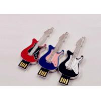 Small Hi - Speed Jewelry Guitar Portable Usb Flash Drive 64gb Customed Logo Manufactures