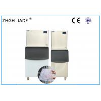 Stainless Steel Shell Automatic Ice Machine Large Capacity 315Kg / 24H Output for Tea Shop Manufactures